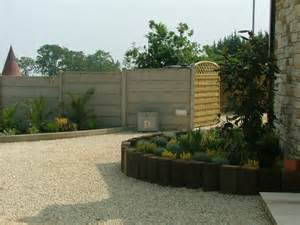 Small Pebble Garden Ideas Small Garden Raised Beds Timber And Pebble Donegan Landscaping Dublin