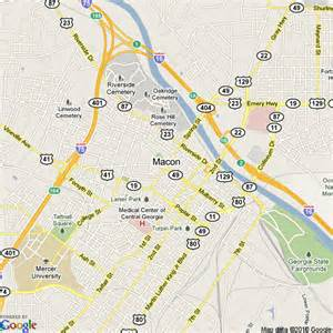 map of macon united states hotels accommodation