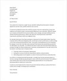 Document Cover Letter by Sle Cover Letter 22 Documents In Pdf Word