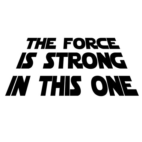 The Strong One the is strong in this one vinyl sticker car decal