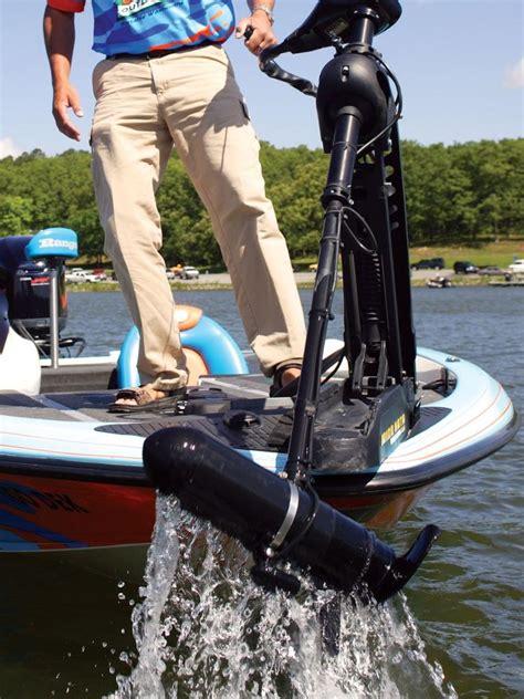 best trolling motor for bass boat trolling motors 101 flw fishing articles