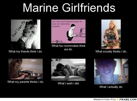 Marine Memes - marine girlfriend quotes quotesgram