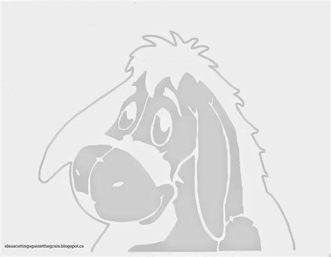 winnie the pooh pumpkin carving templates ideas cutting against the grain eeyore pumpkin stencil