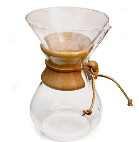 Chemex Classic Series Wood Collar 6 Cups Cm 6a chemex six cup classic series glass coffee maker 6 cup coffee maker coffee store