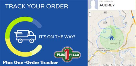 Track Your Plus One Pizza Byesville Ohio