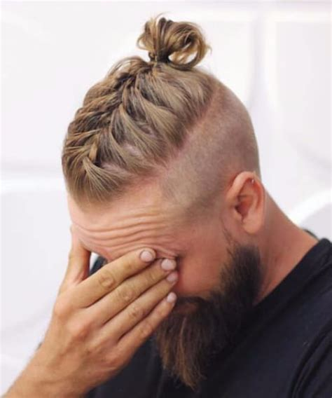 viking braids for men meaning 45 trendy undercut with beard styles menhairstylist com