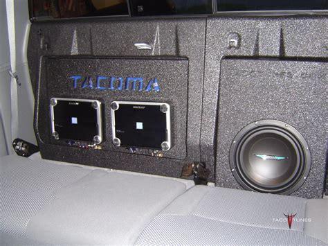 Toyota Tacoma Subwoofer Box Mounting Board W Tacoma Cutout Taco Tunes Toyota