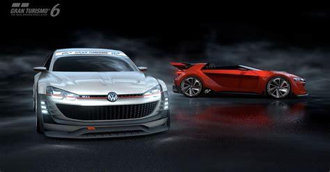 Gran Turismo 6 Vw Autos by Volkswagen Unveils New Gti Supersport Vision Gran Turismo