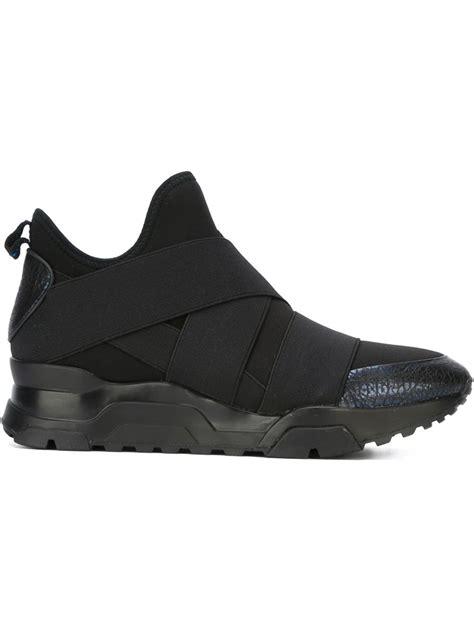 ash black sneakers ash mack bandage sneakers in black lyst