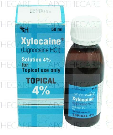 Mediklin Sol Topical Solution xylocaine topical sol 4 50ml