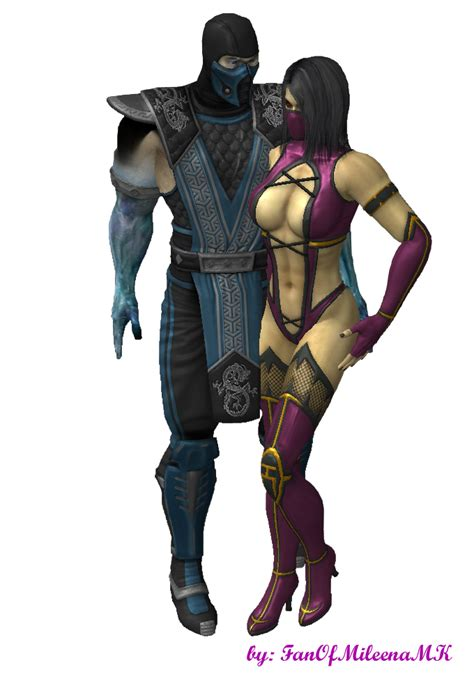 a perfect pairing sub zero mileena and sub zero 2 by fanofmileenamk on deviantart