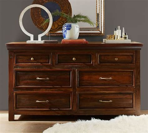 Dresser Set Bowry Reclaimed Wood Bed Dresser Set Pottery Barn
