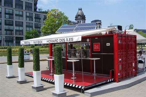 Small Home Business Shipping Pop Up Container Kitchen Restaurant Pop Up Container