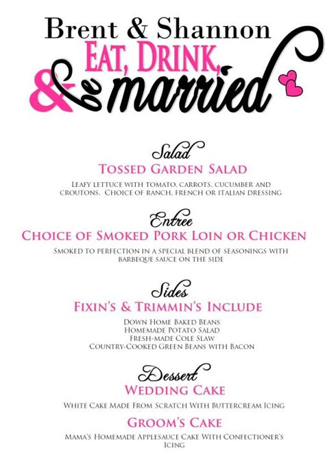 wedding dinner menu template wedding dinner menu template www imgkid the image