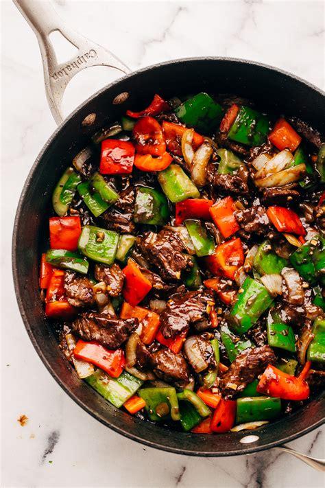 garlic lovers pepper steak stir fry recipe  spice jar