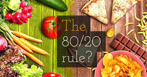 weight loss 80 20 rule the 80 20 weight loss rule real world weight loss