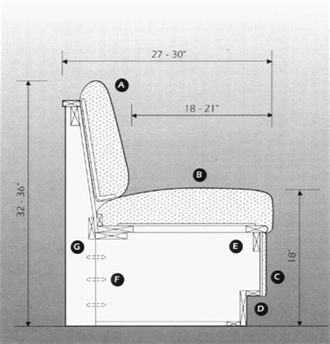 banquette seating plans chairmasters booth banquettes 5500 series kitchen