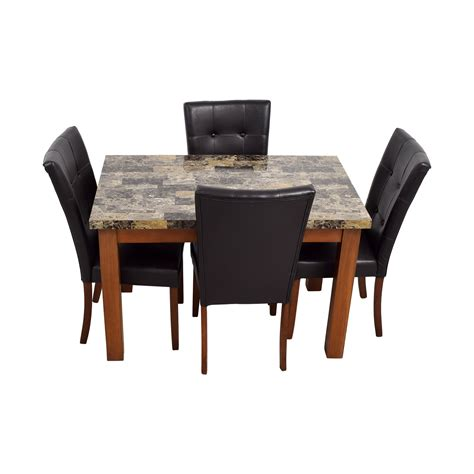 dining bench leather beautiful leather chairs dining room contemporary