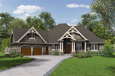 Craftsman Style House Plan   3 Beds 2.5 Baths 2233 Sq/Ft