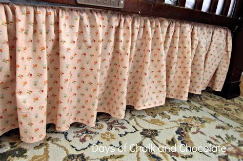 Crib Bed Skirt Tutorial by Crib Skirt Tutorial Sewing Project Days Of Chalk And