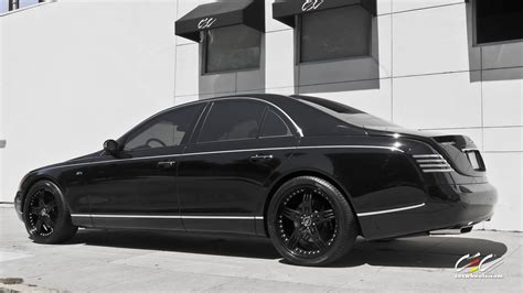 Black Maybach by 2015 Cars Cec Tuning Wheels Maybach 57s Black Wallpaper