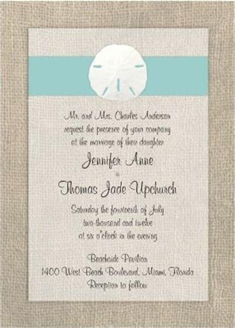 Wedding Invitations 1 Dollar by Sand Dollar Wedding Invitation Modern Matrimony