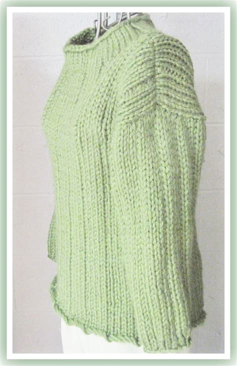 knitting pattern loose sweater loose long bulky sweater knitting pattern for teen to