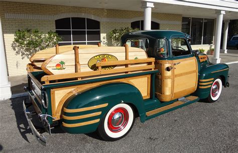 1950 chevrolet 3100 custom woody retro fw wallpaper