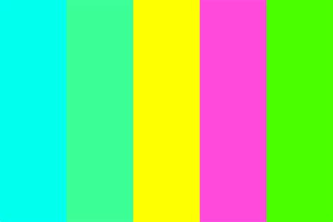 neon color palette neon palette color palette
