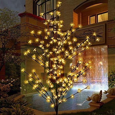 shopko led christmas trees cherry blossom led tree light home decor warm white ebay
