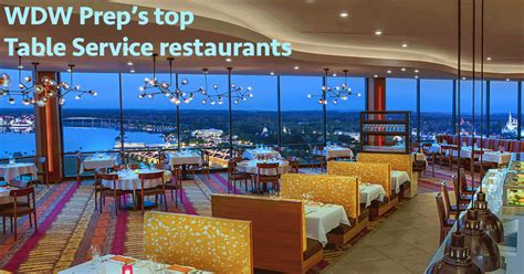 Wdw Prep S Top Table Service Restaurants At Disney World Disney Dining Table Service