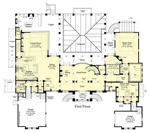 the balsam estate floor plan outdoor living floor plan the villa belle a southern estate home