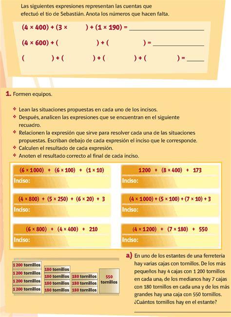 libro de matematica contestado de cuarto grado 2015 2016 view image libro de matematicas 4 libro de matematicas de cuarto de
