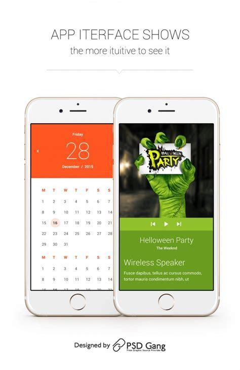 material design mockup get free material design app mockup psd