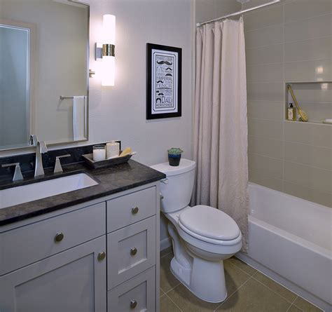 Before & After: A Bachelor's Dated Bathroom Gets a Contemporary Refresh ? DESIGNED