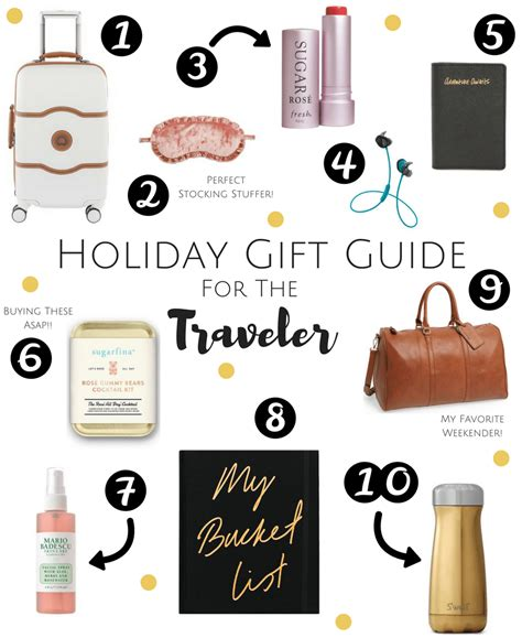 holiday gift guide for the traveler discovering your happy