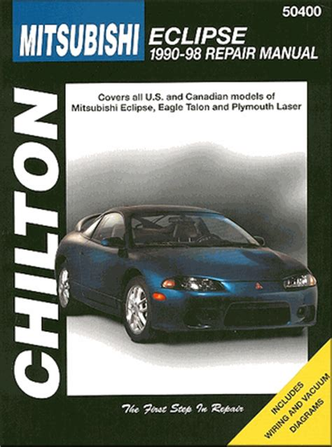 old cars and repair manuals free 1998 eagle talon electronic valve timing eclipse talon laser repair manual 1990 1998 chilton 50400