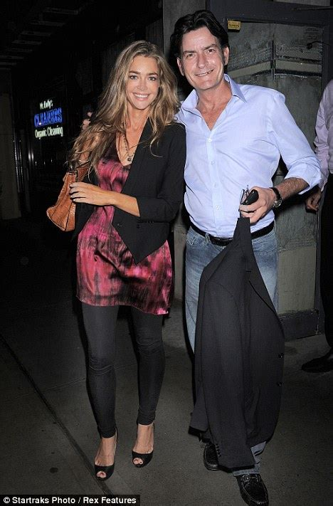 Sheen Richards Are Officially Divorced by Sheen And Richards Show They Are Happily