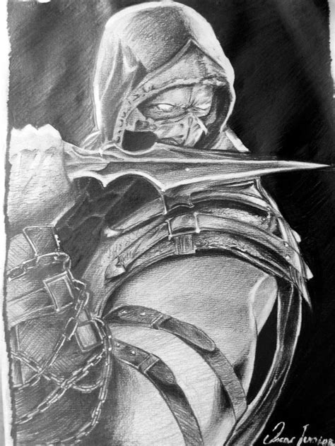 Mortal Kombat X Sketches by Oscarliima Oscar Lima Deviantart