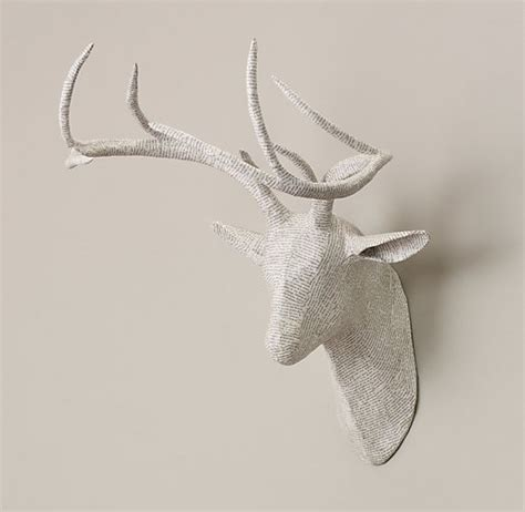 How To Make A Paper Mache Stag - papier m 226 ch 233 stag