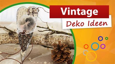 vintage deko ideen wir basteln eine herz dekoration