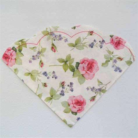 Napkin For Decoupage - paper napkin for decoupage floral napkin pink