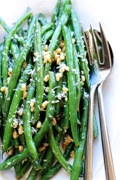 Green Valley Parmesan Cheese 80g green beans with parmesan and lemon butter sauce green