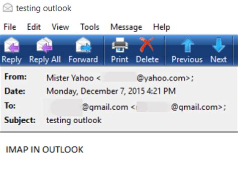 email yahoo imap setup yahoo mail in outlook and other email clients