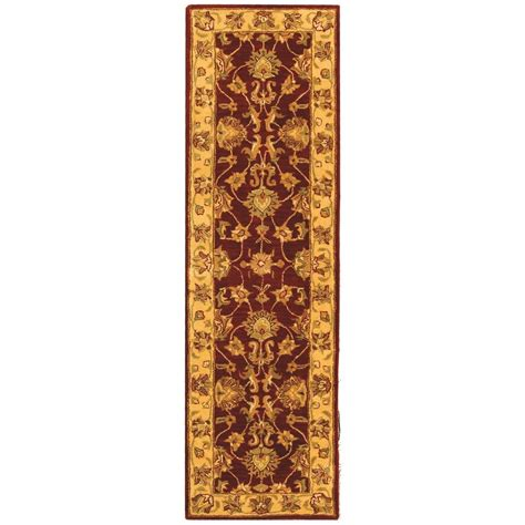 2 x 10 rug runners tufted and gold wool area rug runner 2 3 quot x 10 ebay