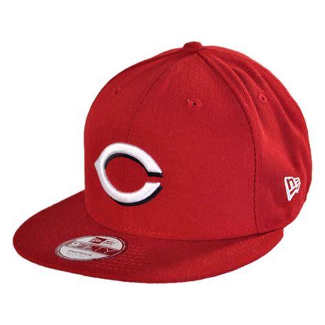 mlb snapback hats c 3 new era cincinnati reds mlb 9fifty snapback baseball cap