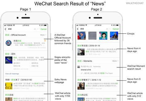Wechat Search 8 Announcements From Wechat Conference 2018 Walkthechat