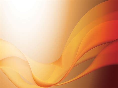 Orange Waves Powerpoint Templates Abstract Orange Free Ppt Backgrounds And Templates Orange Powerpoint Templates