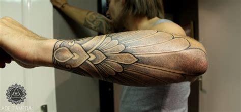 javanese batik tattoo 187 lower arm