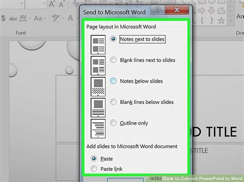 How To Convert Word Document To Powerpoint